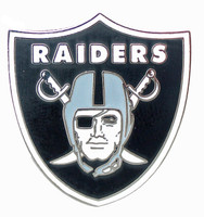 Oakland Raiders Logo Pin