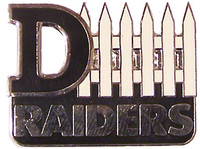 Oakland Raiders D-Fence Pin
