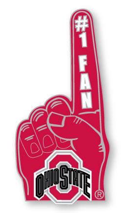 Ohio State #1 Fan Pin
