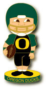 Oregon Football Bobbing Head Pin