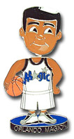 Orlando Magic Bobbing Head Pin