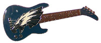 Philadelphia Eagles Guitar Pin