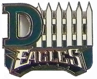 Philadelphia Eagles D-Fence Pin