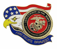 America's Bravest U.S. Marines Pin