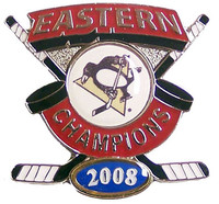 Pittsburgh Penguins 2008 Eastern Conference Champs Pin