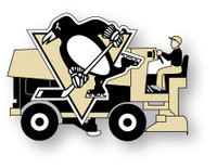 Pittsburgh Penguins Zamboni Pin