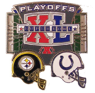 Pittsburgh Steelers vs. Indianapolis Colts 2006 NFL Playoff Pin