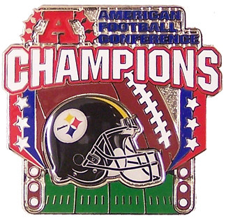 Pittsburgh Steelers 2005 AFC Champions Pin