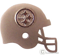 Pittsburgh Steelers Helmet Double Pin