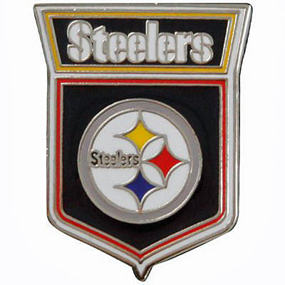 Pittsburgh Steelers Crest Pin