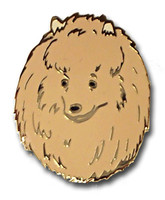Pomeranian Lapel Pin