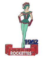 Radio City Music Hall 1960's Rockette Pin - Oversized