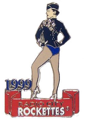 Radio City Music Hall 1990's Rockette Pin - Oversized