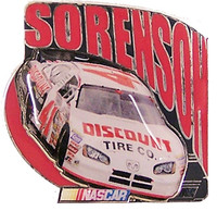 Reed Sorenson Discoount Tire Car Pin