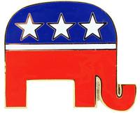 Republican Party Lapel Pin