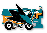 San Jose Sharks Zamboni Pin