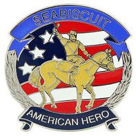 "Seabiscuit ""American Hero"" Pin"
