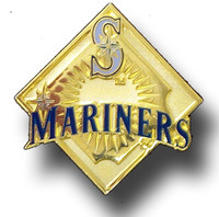Seattle Mariners Classic Gold Pin