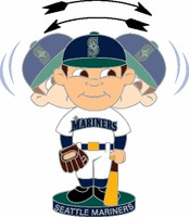 Seattle Mariners Bobbing Head Pin