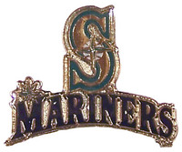 Seattle Mariners Primary Plus Logo Pin