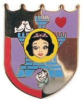 Snow White Castle Icon Disney Pin