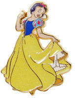 Snow White with Glitter Dress Disney Pin