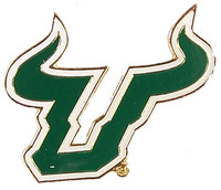 South Florida Univerity Logo Pin