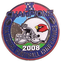 Arizona Cardinals 2008 NFC Champions Pin #2