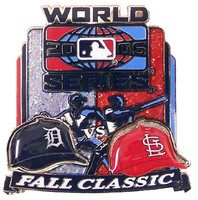 St. Louis Cardinals vs Tigers 2006 World Series Dueling Pin #3