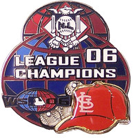 St. Louis Cardinals 2006 National League Champs Pin #3