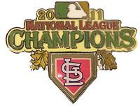 St. Louis Cardinals 2011 NL Champions Pin