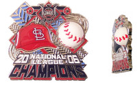St. Louis Cardinals 2006 National League Champs 3-D Ball Pin