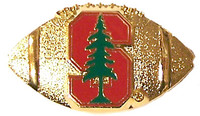 Stanford Football Pin