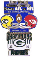 Super Bowl I (1) Oversized Commemorative Pin