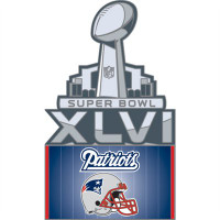 Super Bowl XLVI (46) New England Patriots Pin