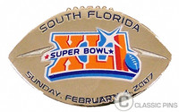 Super Bowl XLI (41) Game Ball Pin