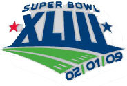 Super Bowl XLIII (43) Logo Pin