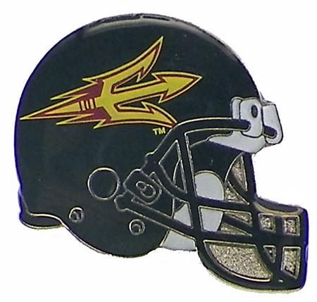 Arizona State Football Helmet Pin