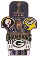 Super Bowl XLV (45) Oversized Commemorative Pin