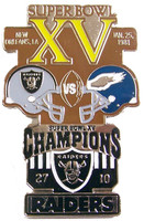 Super Bowl XV (15) Oversized Commemorative Pin