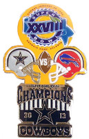 Super Bowl XXVIII (28) Oversized Commemorative Pin