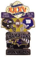 Super Bowl XXXV (35) Oversized Commemorative Pin