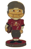 Tampa Bay Buccaneers Bobble Head Pin