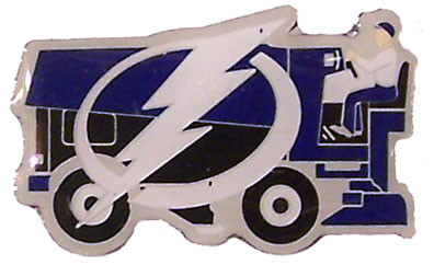 Tampa Bay Lightning Zamboni Pin