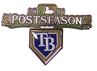 Tampa Bay Rays 2011 Post Season Pin