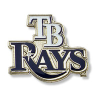 Tampa Bay Rays Primary Plus Logo Pin