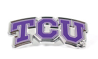 Texas Christian University Logo Pin