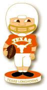 Texas Football Bobble Head Pin