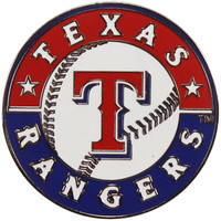 Texas Rangers Logo Pin