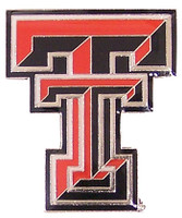 Texas Tech Logo Pin